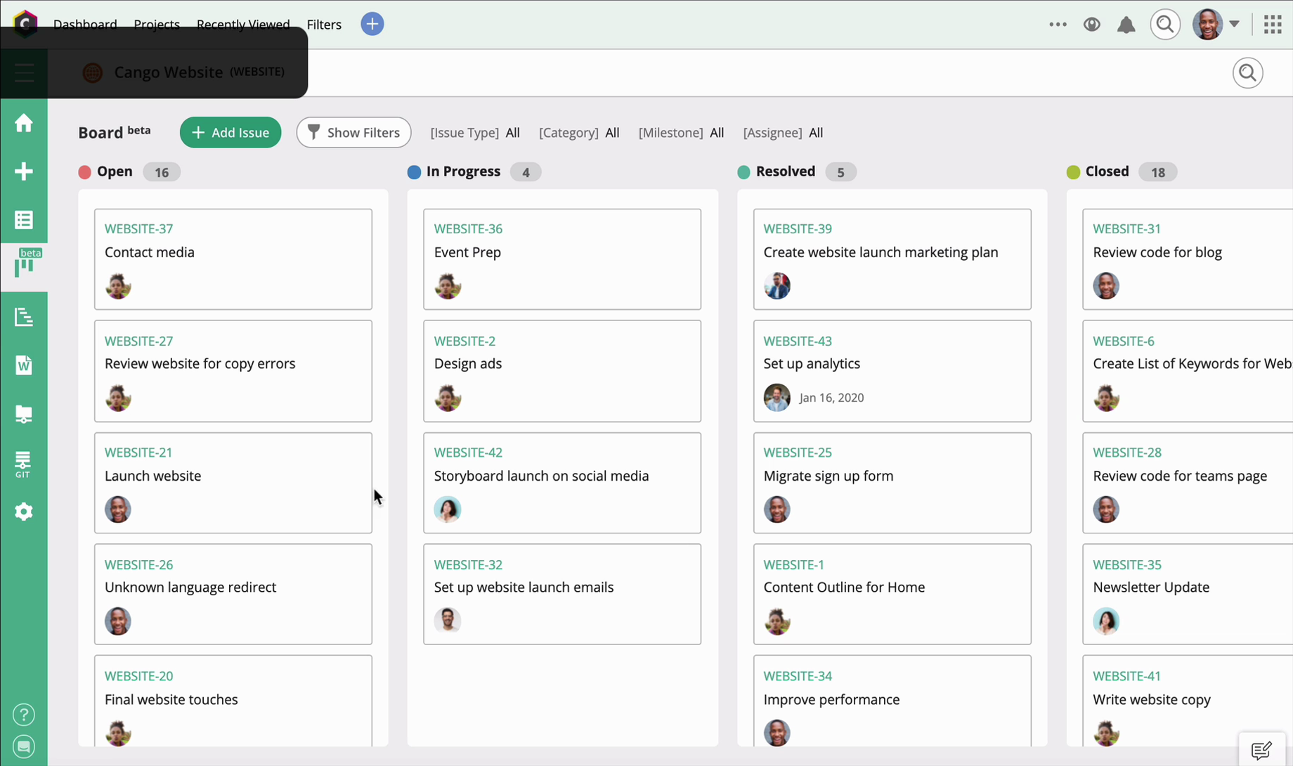 Project Management Software for Design Teams   Backlog