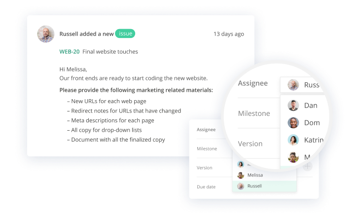 Collaborate with your team image