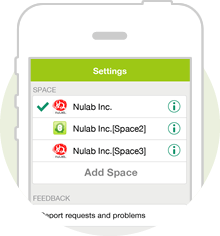 Manage multiple Spaces