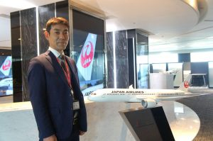 Ryosaku Kasahara from JAL Brand Communications