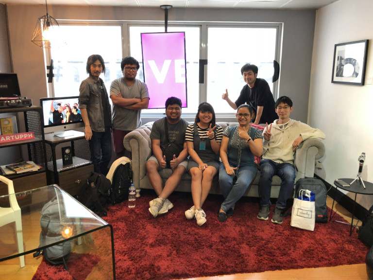 Hacarus team in office