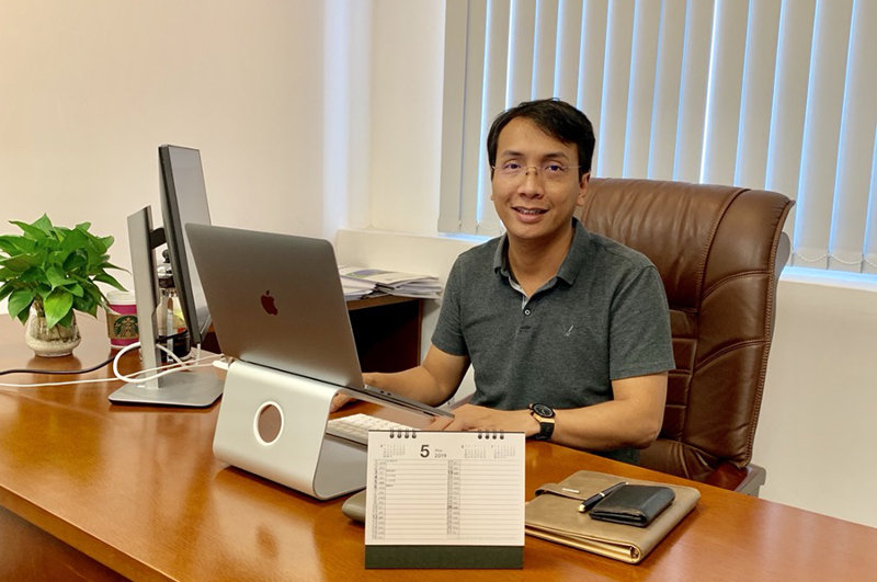 Nguyen Thai Ha, CEO of Kiwi Universe.