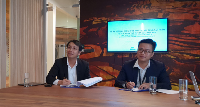 In 2018, Kiwi Universe signed an MOU with Elumi Co. to develop the first legal consultation system with artificial intelligence in Vietnam.