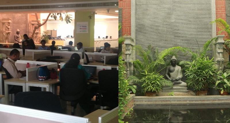 Solverminds office and atrium