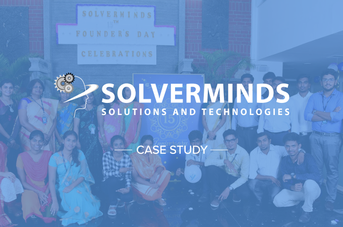 Solverminds ships projects with 30% less effort