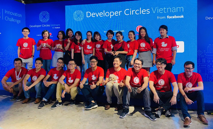 Launch of the Facebook Developers Circle Vietnam Innovation Challenge with CoderSchool