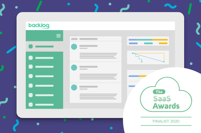 Backlog named SaaS Awards finalist