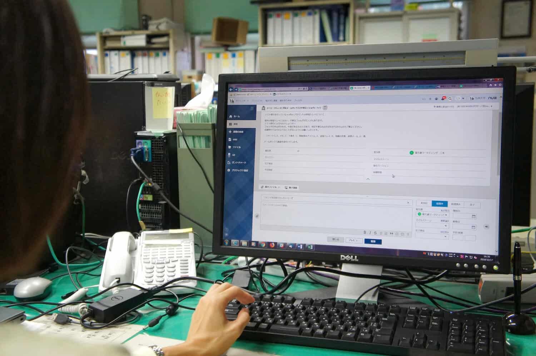 非技術系部署である学務部職員とのやり取りも、難なくBacklogでタスク管理ができている