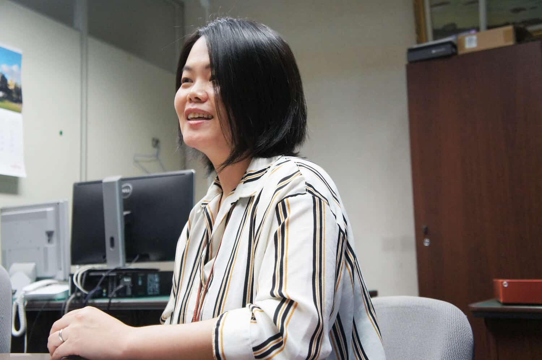 九州大学 情報統括本部 情報システム部 情報企画課 事務ICT支援グループ 主任 高木早智子さん