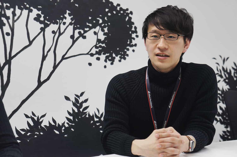 アライドアーキテクツ プロダクト統括部 Touch事業部 副部長 姫井教考さん