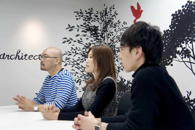 アライドアーキテクツでは社内のメンバーとのコミュニケーション手段としてCacooも活用している