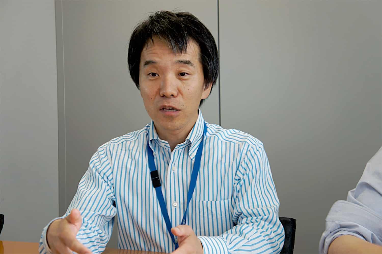 デジタル事業デジタル編成ユニット 西馬一郎さん