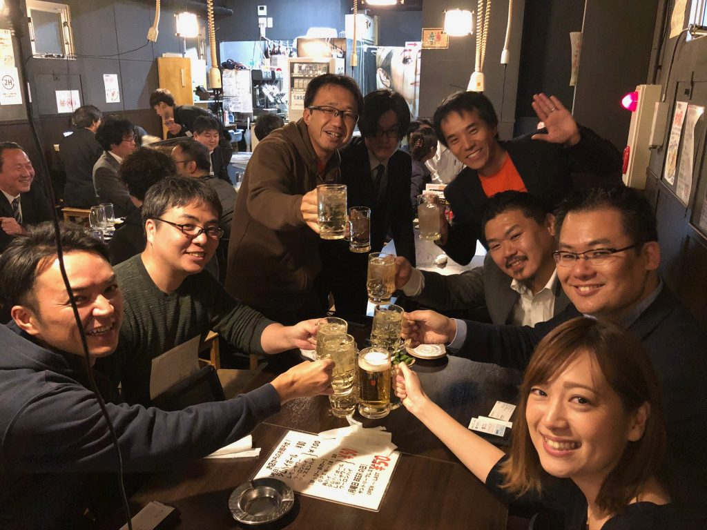 東京での懇親会の様子