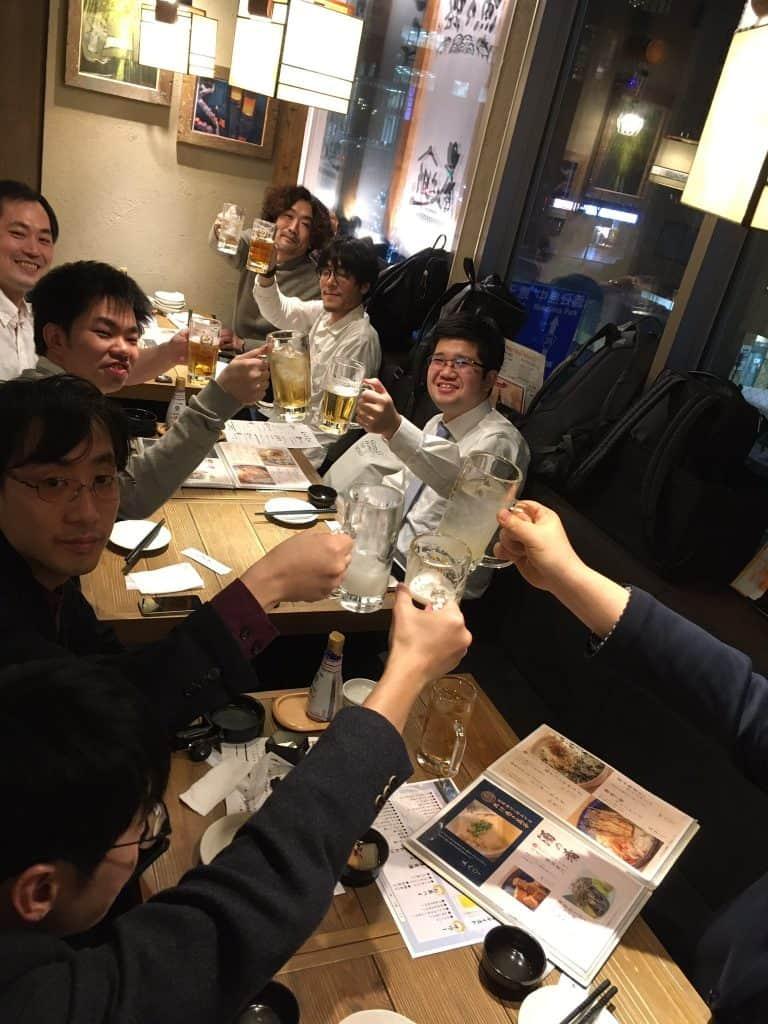 札幌での懇親会の様子