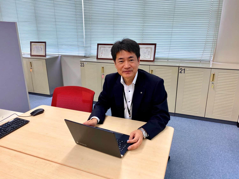 両備システムズ 技術開発センター シニアエキスパート(部長)福田利行さん