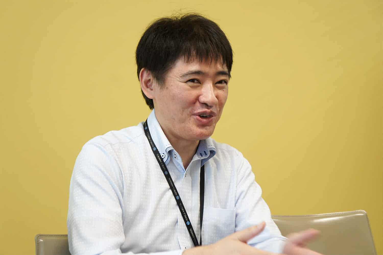 プロジェクト管理ツールのなかでBacklogを選んだ理由を「リニューアルプロジェクトを一緒に進めるベンダーがBacklogを提案してくれたのがきっかけ」と語る竹中 修一さん